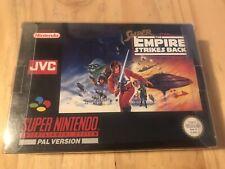 SNES Super Star Wars El Imperio Contraataca Super Nintendo