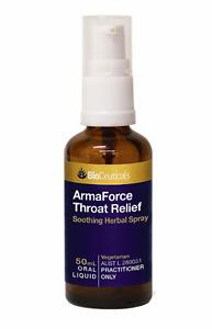 Bioceuticals ArmaForce Throat Relief Spray RRP $24.95