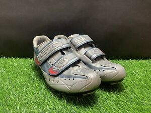 Sidi Cycling Shoes women's Silver Gray Size 39 - 6.5 to 7 US