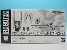 [FROM JAPAN]Robot Spirits Mobile Suit Victory Gundam V Dash Gundam & Hexa Pa...
