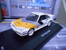 OPEL Manta B 400 Rallye Test Präsentation Euro Händler Gr.B Nightver Schuco 1:43