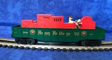 Lionel Elf and Rudolph Animated Gondola #6-16795 - Excellent in Box