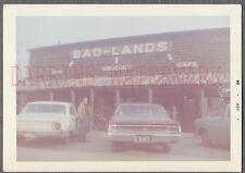 Vintage Photo Roadside Bad Lands Car & 1964 Buick Special & Ford 750871
