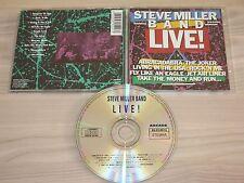 STEVE MILLER BAND CD - LIVE ARCADE in MINT