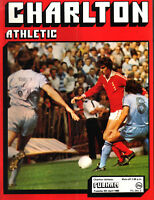 1979/80 Charlton Athletic v Fulham, Division 2, PERFECT CONDITION