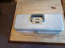 Vintage UMCO Fishing Fish Model 173AS 3 Tray Metal Lure Tackle Box