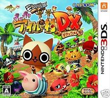 Used 3DS Monster Hunter Poka Airou Village DX NINTENDO 3DS JAPANESE  IMPORT