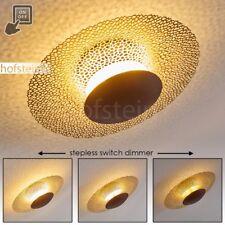 Plafonnier LED Lampe de séjour Lampe de corridor Lampe à suspension dorée 176530
