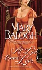At Last Comes Love Mary Balogh (2009, Hardcover Book Club Ed. not in eBay catal