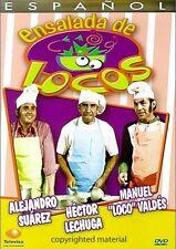 Ensalada De Locos (DVD, 2005 Manuel Valdes, Hector Lechuga Alejandro Suarez New)