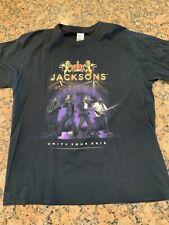 The Jacksons 2013 Concert Tour Shirt L Large Vintage R&B Pop Rock Tee