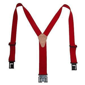 New Perry Suspenders Mens 1.5 Inch Wide Elastic Hook End Suspenders (Reg & Tall)