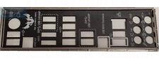 ASUS I/O IO SHIELD BLENDE BRACKET  SABERTOOTH 990FX R2.0  NEU/NEW