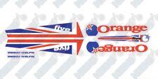 Orange Five decals Union Jack Flag UK Patriot Style 2015 2016 2017-18