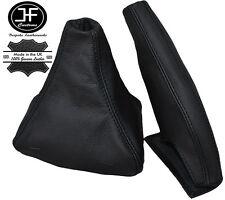 BLACK STITCH LEATHER GEAR & HANDBRAKE GAITER FOR MITSUBISHI 3000GT GTO 91-00