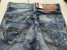 G-Star 3301 Jeans, Straight, W29 L32, Rugby Wash