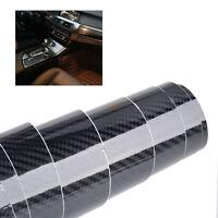 152x 30cm 5D PVC Kohlefaser Stil Folie Atuo Aufkleber für Mercedes VW BMW Audi