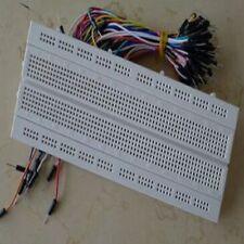 Universal 840 position/Points Solderless PCB Breadboard+65pcs wire kits,w