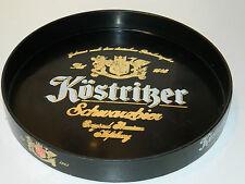 VINTAGE ancien PLATEAU de BIERE bier schwarzbier germany KÖSTRITZER plaque TRAY