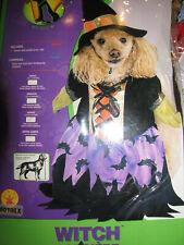 NEW Dog Costumes - Witch Dog Costume Large Dog