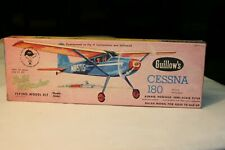 Cessna 180 Balsa wood airplane model Guillows  Kit 601