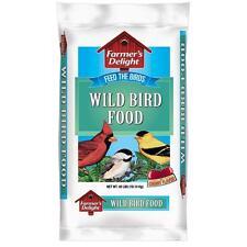 40 lb. Wagner's Farmer's Delight Wild Bird Seed Mix Backyard Feeder Food Bag NEW