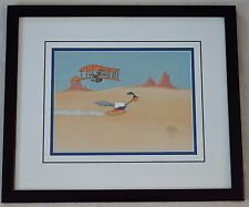 WILE E COYOTE AND ROADRUNNER ORIGINAL PRODUCTION CEL 1986 PUROLATOR COMMERCIAL