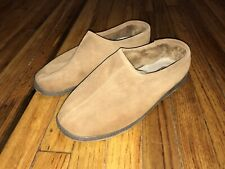 Rockport Mens Size 11 Brown Suede Shoes, Kinetic Air Circulator, Faux Shearling