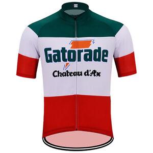 GATORADE CHATEAU D'AX RETRO Cycling BIKE Jersey Shirt Tricot Maillot