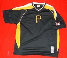 Pittsburgh Pirates Baseball T Shirt L MLB Majestic Stitched on P