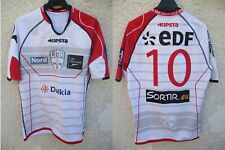 Maillot LILLE METROPOLE RUGBY LMR porté n°10 KIPSTA 2014 / 2015 shirt L