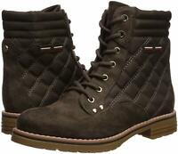 Tommy Hilfiger Womens T-ONELLA Fabric Closed Toe Ankle Fashion Boots