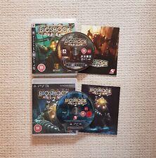Bioshock 1 & 2, PS3 (Sony PlayStation 3, 2008-2010)