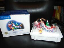 Nib Dept 56 Santa Comes To Town 2003 Spirit Of America #55194 Snow Village Acces