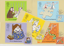 GB POSTCARDS PHQ CARDS USED FRONT FDI NO 250 2003 THE SECRET OF LIFE GENOME