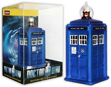 "DOCTOR WHO TARDIS FIGURAL CHRISTMAS ORNAMENT 4.25"" NEW IN ACRYLIC PACKAGE"