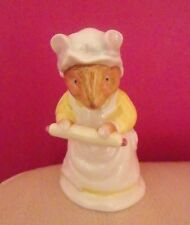 RARE ROYAL DOULTON BRAMBLY HEDGE FIGURE - MRS CRUSTYBREAD DBH 15 - PERFECT !!