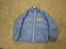 NBA Denver Nuggets  Nylon REEBOK Down/feather Jacket  Winter Warm Light Blue