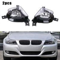 2 Pièce Brouillard Conduite Léger Lampe Housse pour BMW 3 Série E90 E91 4D 325i