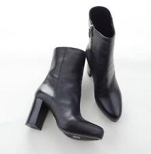 be7c4e62e3107 PRADA Vitello 1 Damen Stiefel Stiefeletten Ankle Boots Schwarz Gr 39