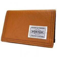 New Yoshida Bag Porter 707-08227 FREE STYLE CARD CASE Camel From JP