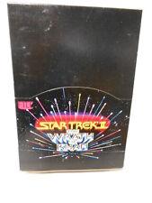 Star Trek Wrath of Khan movie cards rare box 1982