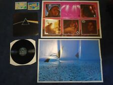 PINK FLOYD THE DARK SIDE OF THE MOON UK VINYL LP / POSTERS / CARDS SHVL 804