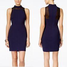 INC International Concepts Sleeveless Illusion-Neck Sheath Dress size12~Stunning
