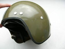 Cold war warsaw pact motorcycle vehicle motorist helmet oldtimer