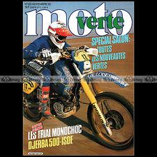 MOTO VERTE N°139 THIERRY MICHAUD GILLES LALAY FANTIC 301 YAMAHA TY 250 JCM 1985