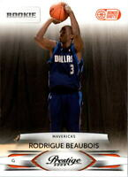 2009-10 Prestige Bonus Shots Orange #225 Rodrigue Beaubois /300 - NM-MT
