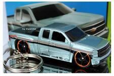 Custom Key Chain Chevy Silverado Pickup