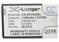 BLT013 Cell Battery For OPPO A209, E21W, U525, U529 (1100mAh) Rechargeable
