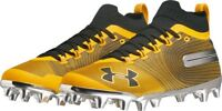 Under Armour (UA) Spotlight MC Cleats Black/Gold 3021731-700 - Men's Size 9